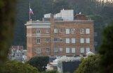 Российских дипломатов оштрафуют за дым над консульством в Сан-Франциско