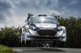 Video: Igaunis Ots Tanaks lido pretim savai pirmajai uzvarai WRC asfalta rallijā