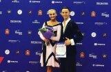 Latvijas sporta deju pāris izcīna ceturto vietu Pasaules kausā