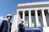 ФОТО. Реконструкцию Дворца культуры ВЭФ завершат в октябре