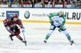 ФОТО: Динамовцы Риги впервые в сезоне не забросили на своем льду