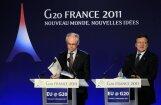 G20  samita dalībnieki palielinās SVF līdzekļus; nevienojas par banku nodokli