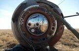 Avarē raķete 'Sojuz'; apkalpe kapsulā nosēžas pie Žezkazghanas