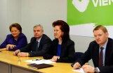 'Vienotība' mudina Kučinski ātrāk veidot jauno valdību