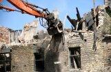 Рига: самые опасные развалины будут сносить незамедлительно