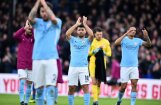 Mančestras 'City' mačā pret 'Crystal Palace' pārtrauc iespaidīgo uzvaru sēriju