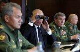 Putins aicina uzņēmējus būt gataviem jebkurā brīdī ražot karam nepieciešamās lietas