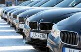 ФОТО: BMW предоставила 230 автомобилей на время председательства Латвии в ЕС