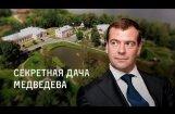 Video: Navaļnijs publicē ziņojumu par Medvedeva 30 miljardu rubļu vērto muižu