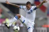 Grieķija EURO 2012 ceturtdaļfinālā pret Vāciju spēlēs ar melniem rokas apsējiem