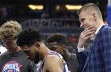 Porziņģis savainojumu dēļ izlaiž NBA spēli; 'Knicks' zaudē