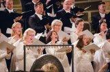 Koris 'Latvija' izdziedās 18 Latvijas komponistu pirmatskaņojumus