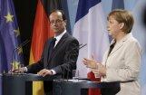 Olands un Merkele apņemas darīt visu Grieķijas noturēšanai eirozonā