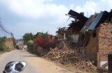 Video: Grūstošas mājas, kliedzieni un bailes - latviešu brīvprātīgie Nepālas zemestrīcē
