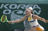 Остапенко стала полуфиналисткой турнира в Сеуле