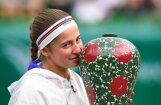 Первая ракетка Латвии Остапенко завоевала второй титул в карьере