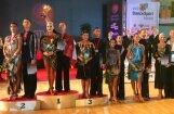 Latvijas sporta deju pāris triumfē Rīgā notiekošajā pasaules čempionātā jauniešiem