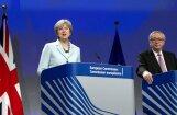 Panāk vienošanos par 'Brexit' nosacījumiem