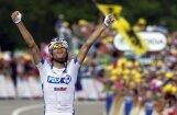 Francūzis Pino tiek pie pirmās uzvaras 'Tour de France' posmos savā karjerā