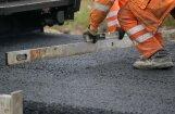 В Латвии начался сезон ремонта дорог