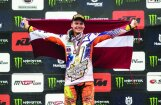 Pasaules MX2 čempions Pauls Jonass: mans nākamais mērķis – uzvara Latvijas MXPG posmā!