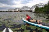 Rīgas peldvietās līdz +21 grādam silts ūdens