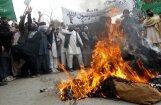 Afganistānā protestē ASV karavīra sarīkotā slaktiņa dēļ