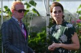 Briti sajūsmā: Hercogiene Katrīna pārkāpj smalko etiķeti