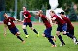 Jaunā futbola virslīgas sezona startē ar grūtu FK 'Jelgava' uzvaru pār 'Babīti/Dinamo'