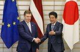 Kučinskis Rīgā tiksies ar Japānas premjeru; ierobežos satiksmi