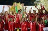 Minhenes 'Bayern' 'pendelēs' uzvar Dortmundes 'Borussia' Vācijas Superkausā