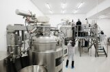 Foto: 30 krēmu pudelītes minūtē jeb jaunās 'Madara Cosmetics' ražotnes atklāšana