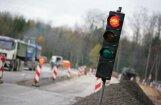 На Рижской окружной дороге в Саласпилском крае ожидаются заторы