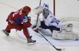 Tēmu Lasila palīdz Somijai uzvarēt Krievijas hokejistus