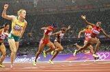 Austrāliete Pērsone ar visu laiku sesto labāko laiku uzvar 100 metru barjerskrējienā
