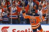 NHL jaunā sezona iesākas ar Makdeivida 'hat-trick'