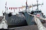 ФОТО: в Вентспилс прибыли корабли НАТО
