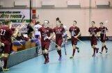 Latvijas florbola izlase izcīna pirmo uzvaru pirmajā Sešu nāciju kausa izcīņā