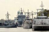 Foto: Ventspilī piestājuši NATO pretmīnu kuģi