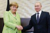 Меркель обсудила с Путиным Украину и Сирию, а также спросила про Чечню