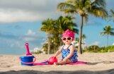 Spēles smiltīs: antistresa līdzeklis bērniem un arī pieaugušajiem