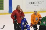 Latvijas izlases treneris Hārtlijs pēc otrās darba nedēļas gandarīts par hokejistu progresu