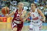 Latvijas basketbolistes  EČ ceturtdaļfinālā atkal tiksies ar Krieviju