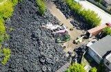 Nelegālā izgāztuve Rīgā: vides aizstāvji brīdina par milzu draudiem cilvēkiem un videi