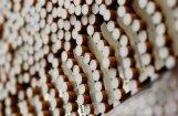 Piektdien Daugavpils novadā par 60 tūkstošu cigarešu kontrabandu aizturēti divi cilvēki