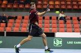 Brāļi Podži triumfē Zviedrijā notikušajā 'Futures' dubultspēļu tenisa turnīrā
