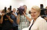 Грибаускайте выделилась, воздержавшись при единогласном голосовании по