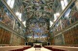 'Porsche' no Vatikāna īrējis Siksta kapelu korporatīvai ballītei