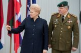 Baltijas valstīm lielākā problēma ir Krievija, pārliecināta Grībauskaite