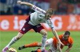 Rudņevs ģimenes pieauguma dēļ nepalīdzēs Latvijas izlasei PK kvalifikācijas spēlē pret Šveici